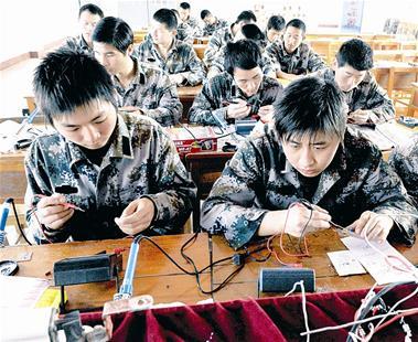 退役1年内的自主就业退役士兵可获免费培训