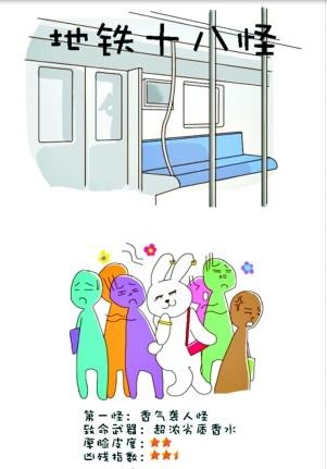 星空画女孩地铁十八怪记录全集众生相(图)--湖吞噬地铁漫画漫画图片