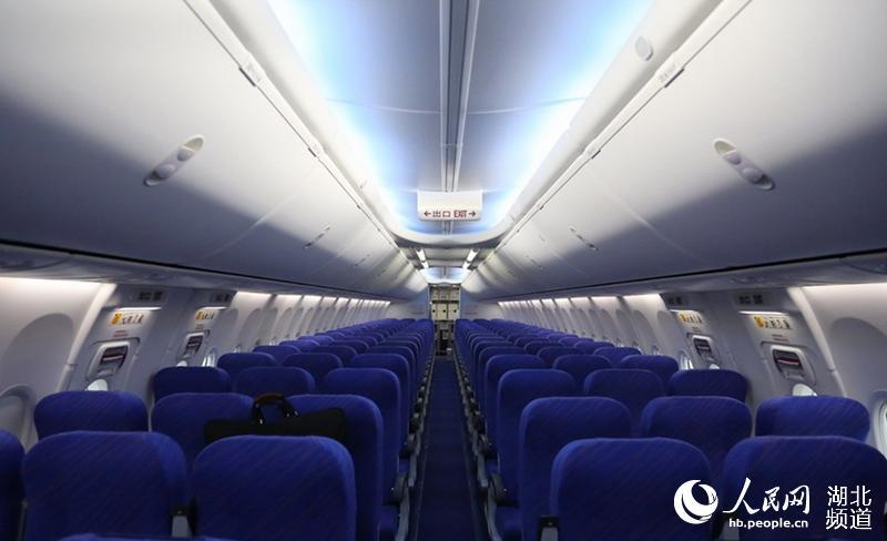该飞机是波音737系列最新机型