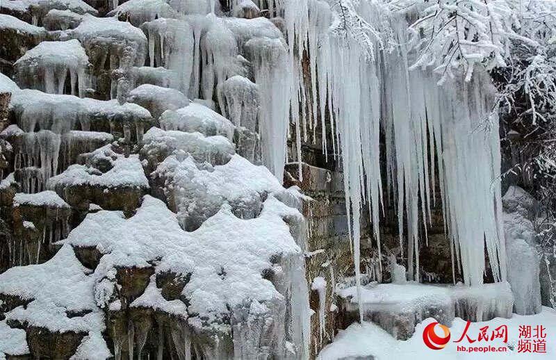 湖北咸丰 坪坝营之冰雪奇观