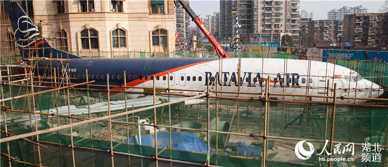武汉光谷现飞机主题餐厅 总投资3500万元