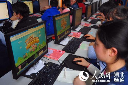 湖北鹤峰:一带二安全知识网络竞赛保障学生平