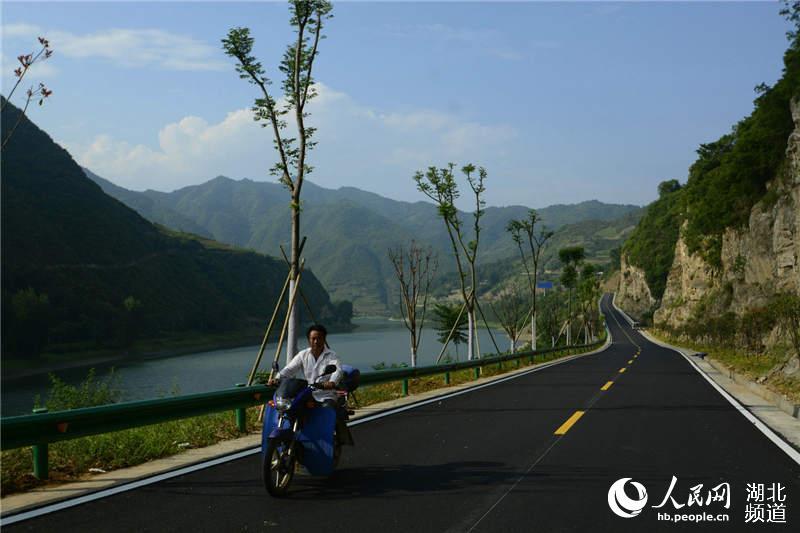湖北竹山打造281省道生态旅游绿色长廊