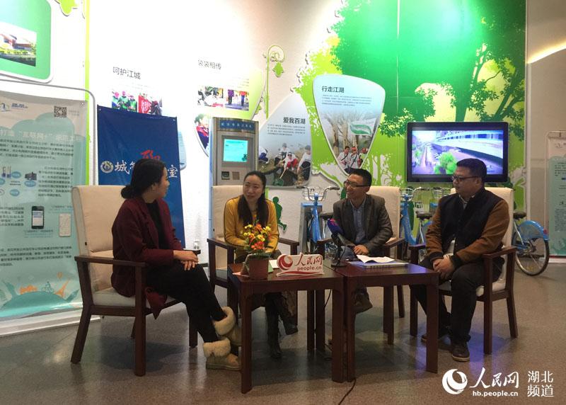 城管聊天室聚焦武汉公共自行车项目 倡导绿色文明出行