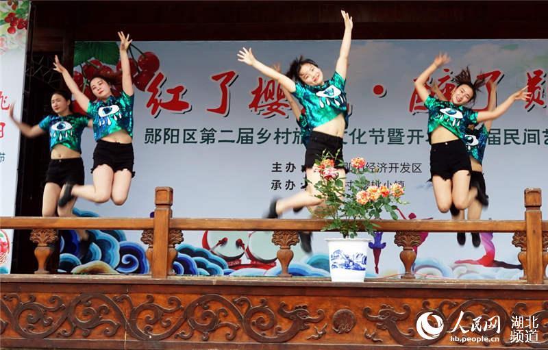 中兒了幼兒園表演的舞蹈《GOOD time》