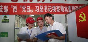 """只有一个党员参加的""""微党日""""活动5月15日上午,武汉凌达压缩机公司生产车间里,一场特殊的""""党日""""活动正在进行。[详细]"""