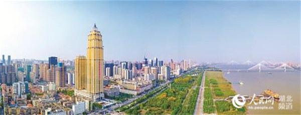 长江左岸创意设计城扮靓长江主轴