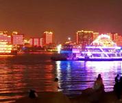 美哉!武汉长江两岸流光溢彩