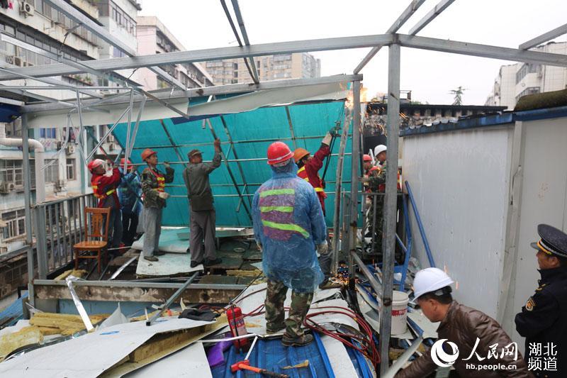 武汉拆违攻坚战 已拆除109.92万平方米违法建设