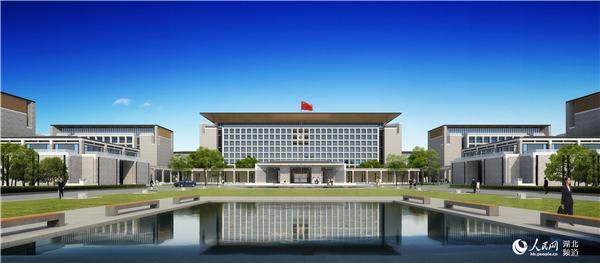 北京市政府办公楼效果图