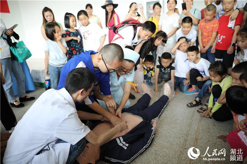 """湖北鹤峰:""""希望家园""""开班 40名大学生志愿者陪伴200名留守儿童过暑假【3】"""