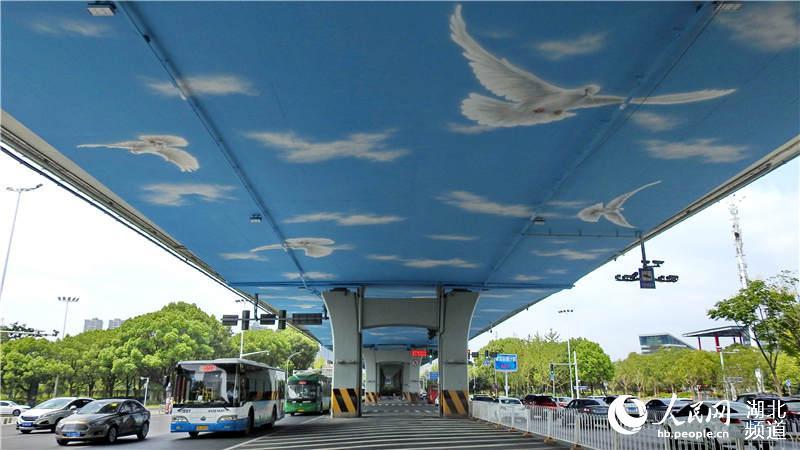 和平鸽飞舞东风大道 喜迎建国70周年、第七届世界军运会