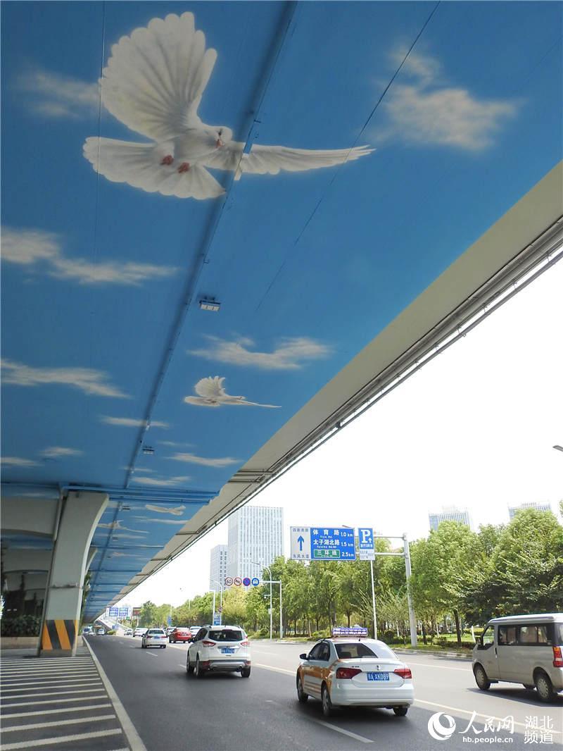 和平鸽飞舞东风大道 喜迎建国70周年、第七届世界军运会【4】